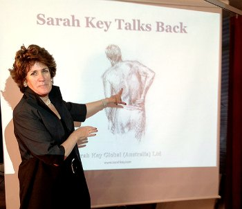 Sarah Key Talks Back
